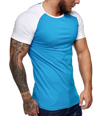 T-shirt bi color homme