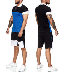 Ensemble homme short et polo