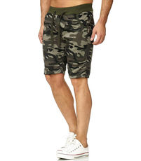 Bermuda camouflage homme