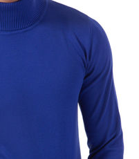Pull homme col roulé