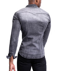 Chemise jean homme