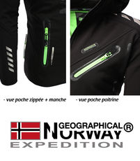 Veste softshell Geographical Norway