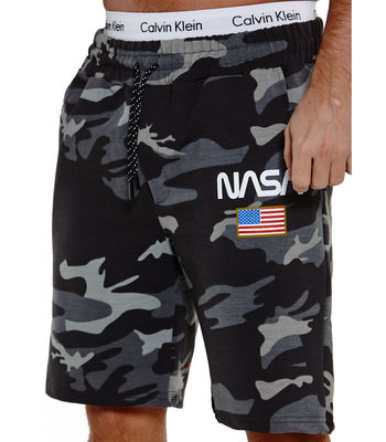 Short camouflage homme