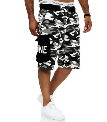 Short camouflage pour homme