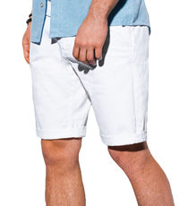 Short chino pour homme