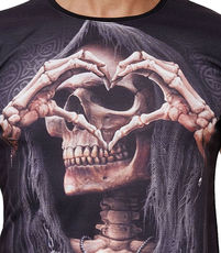 T-shirt fashion tête de mort