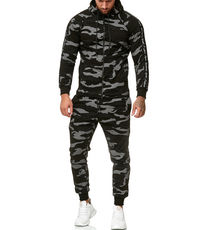 Ensemble jogging camo