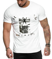 T-shirt fashion homme