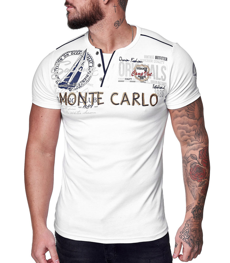 T shirt homme Monte Carlo