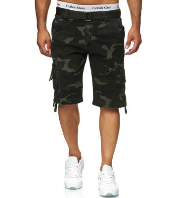 Bermuda homme camouflage