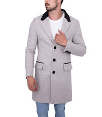 Veste caban long homme