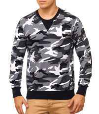 Pull camouflage pour homme