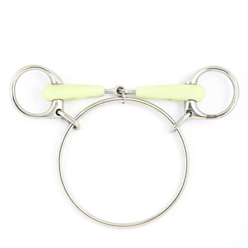 Dexter Snaffle white mouth