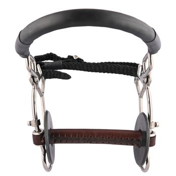 leather-hackamore combi short-straight soft