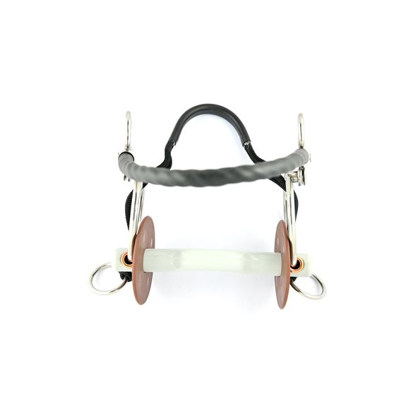 Tango with tongue port snaffle soft