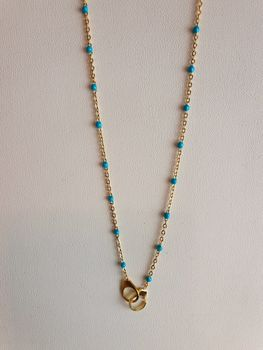 """Collier """" GIOVANA """" Turquoise"""