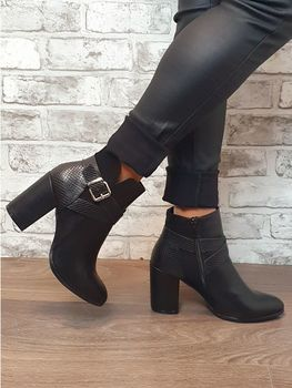 "Bottines "" Gina ""noir"