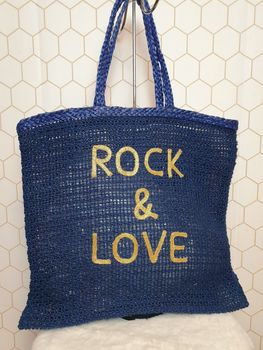 "Sac Cabas "" ROCK & LOVE """