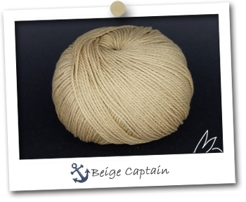 WIND - coloris BEIGE CAPTAIN - Pelote de 100 gr