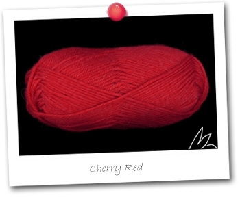 Alpaga 100 Baby - Cherry Red