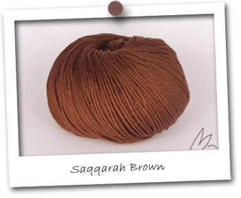 EGYPTO - coloris SAQQARAH BROWN