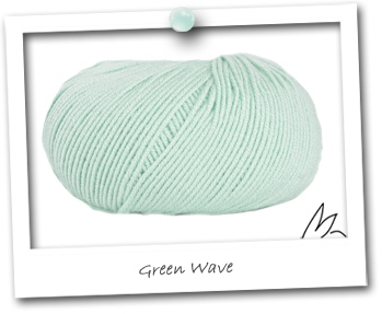 MERINOS MINI - coloris GREEN WAVE
