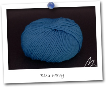 MERINOS MEDIUM - coloris BLEU NAVY