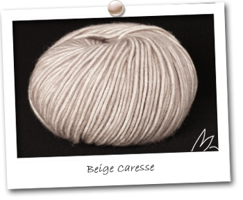 PLUME coloris BEIGE CARESSE