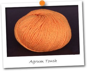 LIN & COTON - coloris AGRUM TOUCH