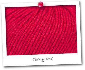 MERINOS EXTRA - Cherry Red