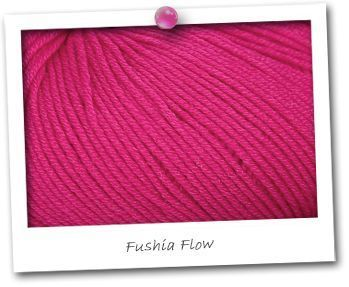 MERINOS MINI - Fushia Flow