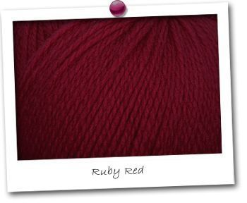 INCA - coloris RUBY RED