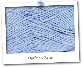 MERINOS & COTON - coloris HORIZON BLUE