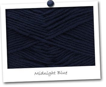 MERINOS & COTON - coloris MIDNIGHT BLUE