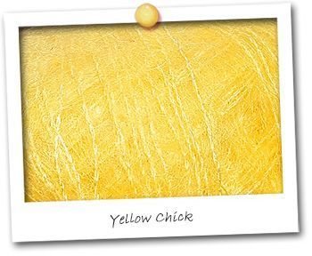 Mohair & Soie -  coloris Yellow Chick