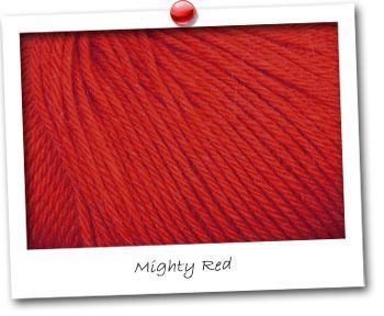 CACHEMIRE 100 - Mighty Red