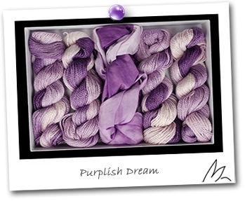 GIFT BOX  - Coffret Kit - Harmonie PURPLISH DREAM