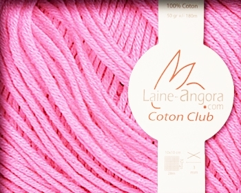 COTON CLUB - coloris ROSE GUMMY