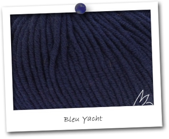 MERINOS MEDIUM - coloris BLEU YACHT