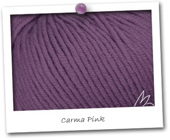 MERINOS MEDIUM - coloris CARMA PINK