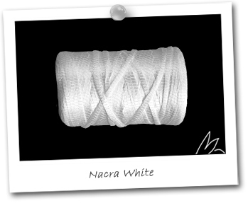 LINKSILK - coloris NACRA WHITE