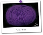 100% ANGORA - coloris PURPLE SILK