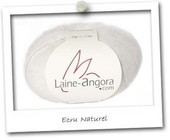 ANGORA 50% - ECRU NATUREL