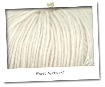 PLUME coloris ECRU NATUREL