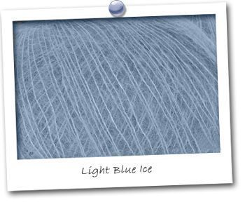 Mohair & Soie - Light Blue Ice