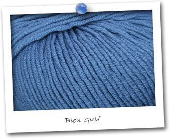 MERINOS MEDIUM - coloris BLEU GULF