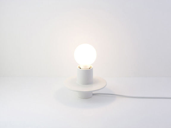 Disque lampe à poser + support