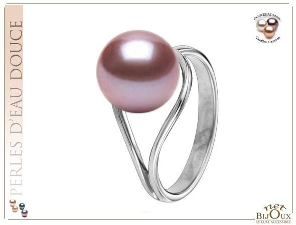 Bague perle Doucehadama Or 18k REF:BG-DESTINEE-18K-ODH