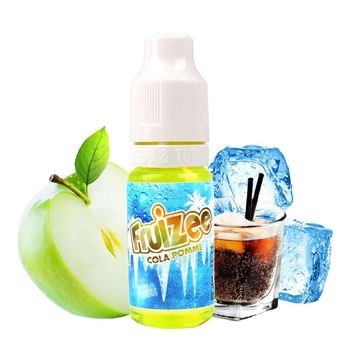 Cola Pomme Booster 18 mg - Fruizee - Eliquid France