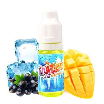 Cassis Mangue Booster 18 mg - Fruizee - Eliquid France